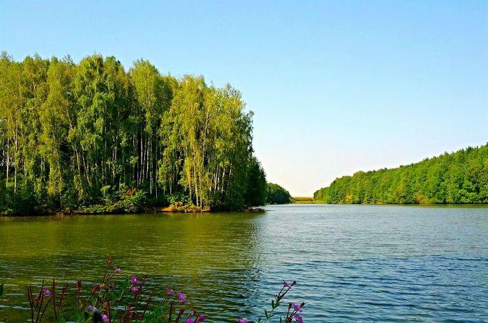 The lake UTKA, UKRAINE, very nace Hello World Relaxing