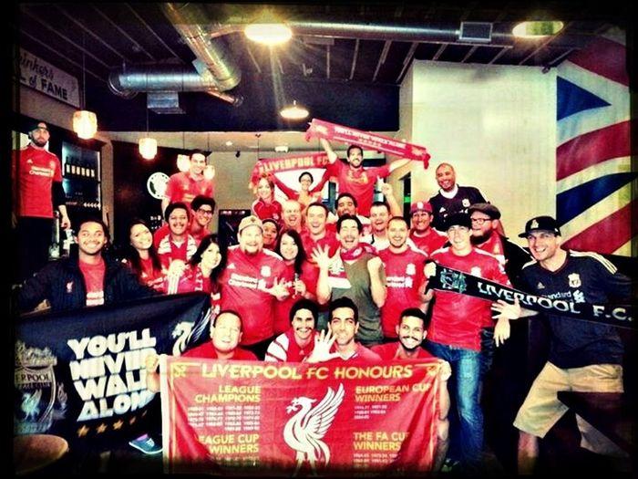 Celebrating Supporters Liverpool Football Club YNWA