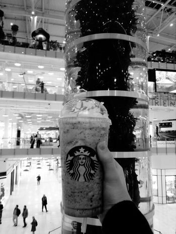 Starbucks Drink Coffee Day Beautiful Moscow Aviapark Colorful Cool