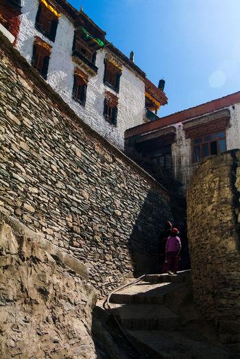 Karsha or Kursha Gompa in Zanskar Valley Built Structure Folk Gompa India Jammu And Kashmir Karsha Kursha Ladakh Leh Monastery Traditional Travel Zanskar