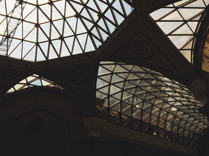 Centro Cultural San Borges Museum Architecture Glass Ceiling Light Buenos Aires