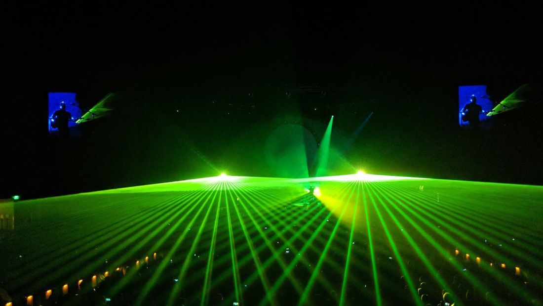Concert Lights at Smart Financial Centre in Sugar Land, TX Concert Lights Concert Laser Lights  Lasershow Lightshow Entertainment SUGAR LAND Texas Travel Travel Photography Travel Blogger Good Times Followme Pixelxl2 Green Light Laser Stage Music Concert Stage Light Live Event Light Beam