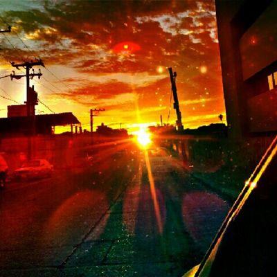 Parking view Picoftheday Hdr_lovers Sunset_lovers Landscape_lovers landscape instagramers instaporn instahub instadaily instafocus instagood colorfull follow4follow followme fun food travel igaddict iphonesia