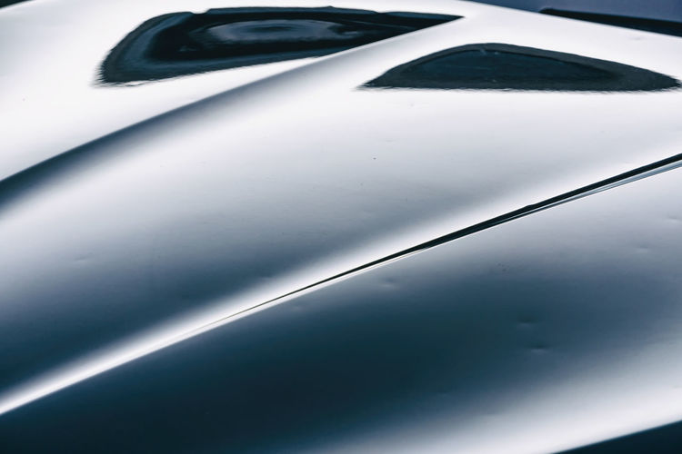 Close-Up of Reflections on Hood of Car Berlin Germany 🇩🇪 Deutschland Color Image Horizontal Outdoors No People Car Motor Vehicle Mode Of Transportation Close-up Land Vehicle Transportation Vehicle Hood Full Frame Reflection Glass - Material Day Bonnet Luxurious Hood Shiny Metal Copy Space Backgrounds High Angle View