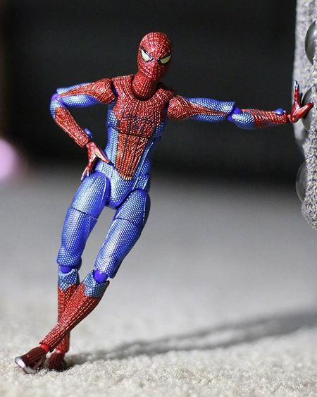 Spidey is anxious for March to begin Fwebruary Photocred: @wermss_