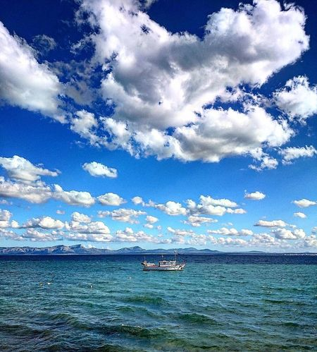 www.instagram.com/_mr.photo_Cloud - Sky Sky Sea Beauty In Nature Transportation Day Water Nautical Vessel Nature Scenics Blue Mode Of Transport Outdoors Tranquility No People Mountain Jet Boat Long Goodbye EyeEmNewHere The Secret Spaces EyeEm Diversity Resist Be. Ready.