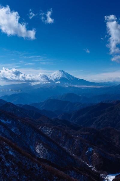 Mountain Beauty In Nature Landscape Snow Japan Photography 富士山大好き 富士山 Mt. Fuji Winter 塔ノ岳