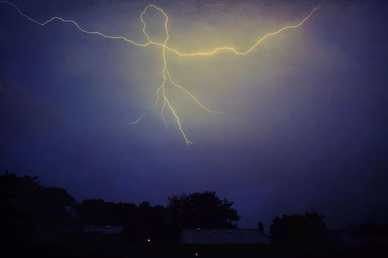 The boogie man Lightning Power In Nature Forked Lightning Thunderstorm Storm Weather Night Dramatic Sky Beauty In Nature Danger Nature Storm Cloud Sky Scenics Outdoors Cloud - Sky Illuminated No People Boogieman