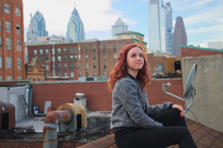 Chinatown Philadelphia Philly Redhead Roof Rooftop Architecture Beautiful Woman Building Exterior Built Structure City Day Leisure Activity Model Modeling One Person Outdoors People Portrait Real People Sitting Sky Smiling Young Adult Young Women Summer Exploratorium Summer Exploratorium Adventures In The City #FREIHEITBERLIN The Portraitist - 2018 EyeEm Awards The Street Photographer - 2018 EyeEm Awards The Traveler - 2018 EyeEm Awards Creative Space Urban Fashion Jungle Be Brave #urbanana: The Urban Playground Summer In The City A New Beginning This Is Natural Beauty Moments Of Happiness International Women's Day 2019 Streetwise Photography The Art Of Street Photography