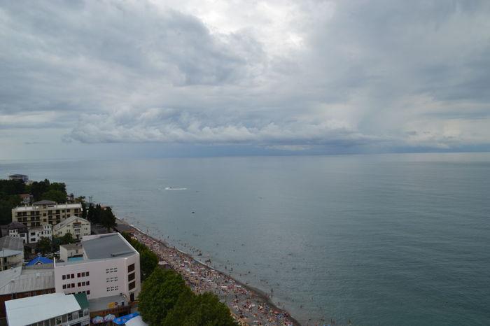Море с высоты 80 метров Sky And Sea