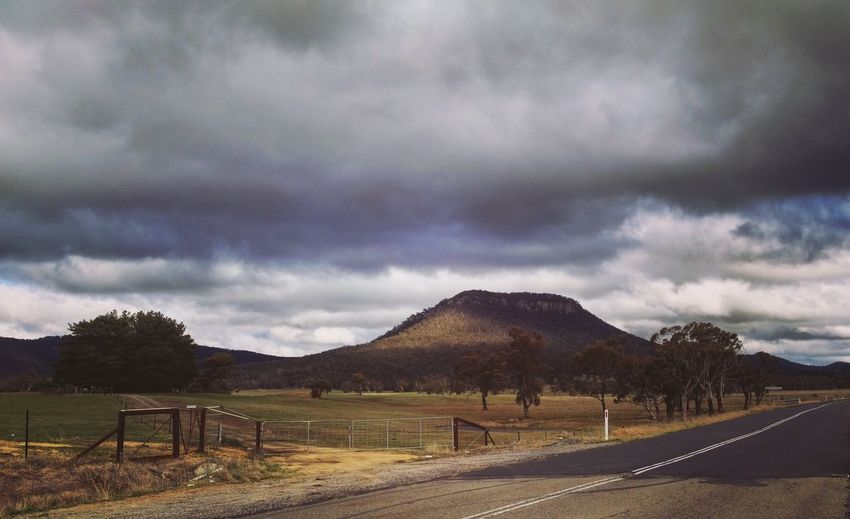 Landscape Country Road DXO IPhone