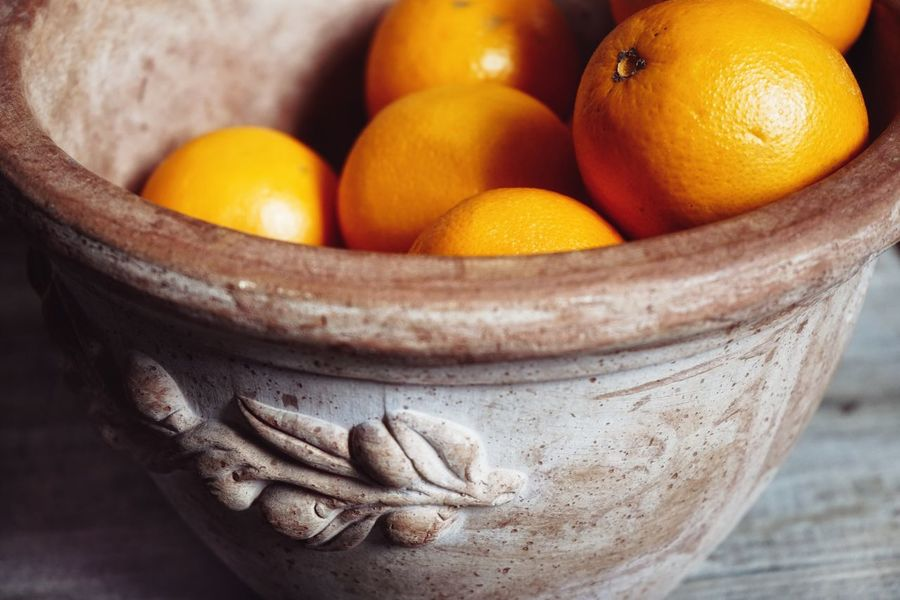 Orange Indoors  Clay Jug Close-up Still Life Textured  Backgrounds Wood - Material Sony A7 SONY A7ii EyeEmNewHere EyeEm New Selects Food Stories