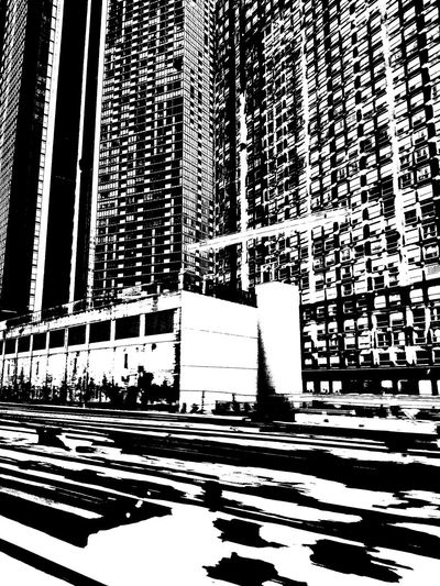 Minimal maximum urban. Rail Rail Transportation Urban Rail Urban Blackandwhite Black And White B&w Toronto Canada Impression Pattern Backgrounds No People Technology