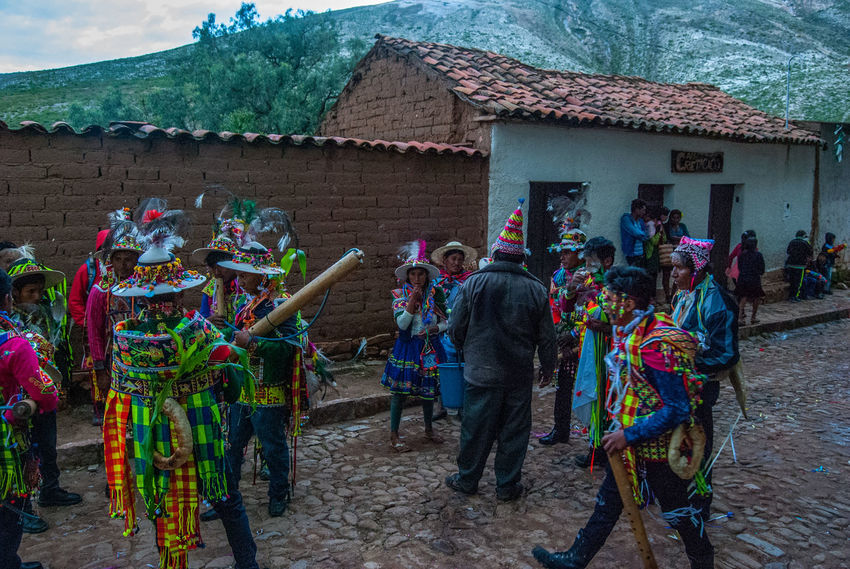 Carnaval in Torotoro Bolivia Celebration Architecture Building Exterior Built Structure Carnaval Day Large Group Of People Lifestyles Outdoors People Real People Torotoro