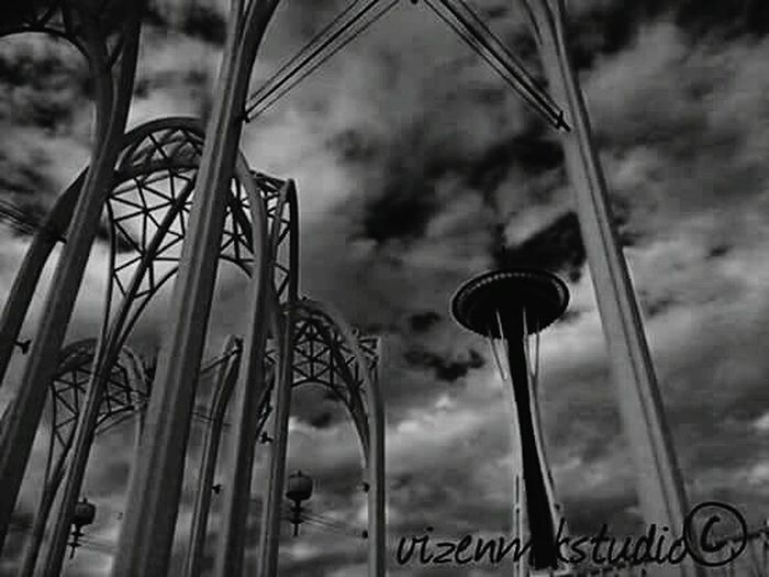 Space Needle Queenanne B/W Photography Outdoors Photograpghy  EE_Daily: Black And White Photography Seattle Space Needle Bnw_friday_eyeemchallenge
