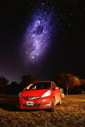 vamos de paseo Night Nightphotography Nightshot Night Sky Honda HondaLove Honda Fit Hondafit Honda Astronomy Galaxy Milky Way Star - Space Fan - Enthusiast Car Space Sky Constellation Starry First Eyeem Photo The Great Outdoors - 2018 EyeEm Awards