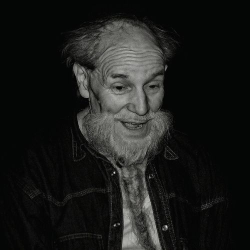 Portrait Grumpy Old Man Old Man Catweazle