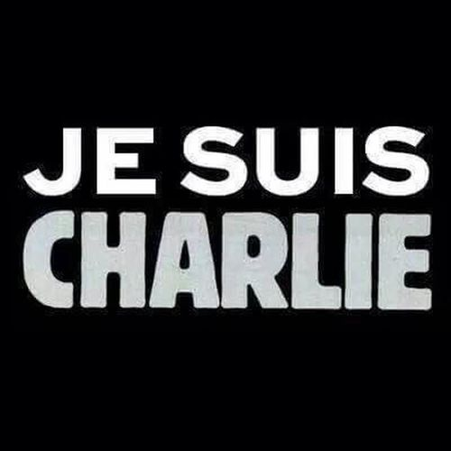 A huge for the families of the victims and for designers of Charlie Hebdo Jesuischarlie