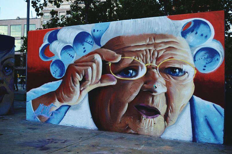 Dec 2014 Streetart Artderue UrbanART Graffiti Art Graffiti Barcelone Espagne España SPAIN Voyages