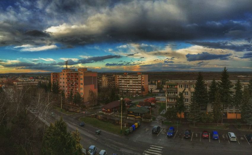 Panorama Panoramic Photography Panoramic View Clouds And Sky Kralovsky Chlmec Panoramic Panoramic Landscape From The Rooftop