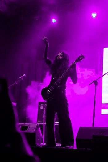 Rekti Yoewono of The Sigit Stagephotography Stageid Thesigit Pontianak Popular Music Concert Musician Electric Guitar Rock Music Musical Instrument Rock Musician Nightclub Nightlife Performance Singer  Guitarist