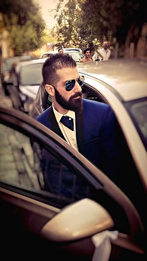 Tuxedo Perfect Today's Hot Look Taking Photos Check This Out Pictureoftheday Blue Rayban Inside The Car Model