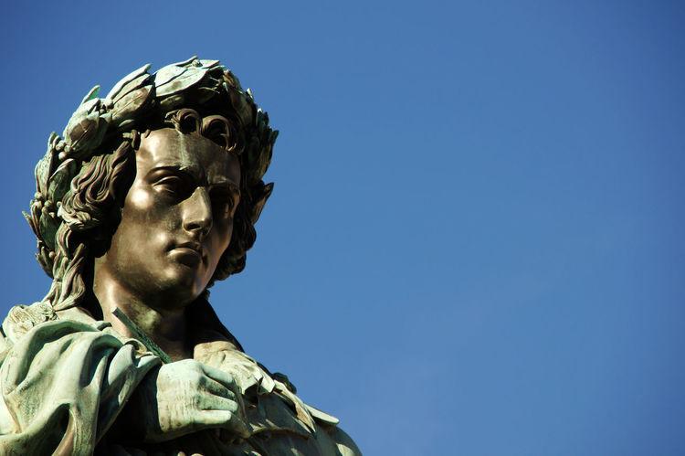 Statue of Friedrich Schiller in Stuttgart - Schillerplace Art Art And Craft Famous Friedrich Schiller Idol Poet Sculpture Statue Stuttgart Writer
