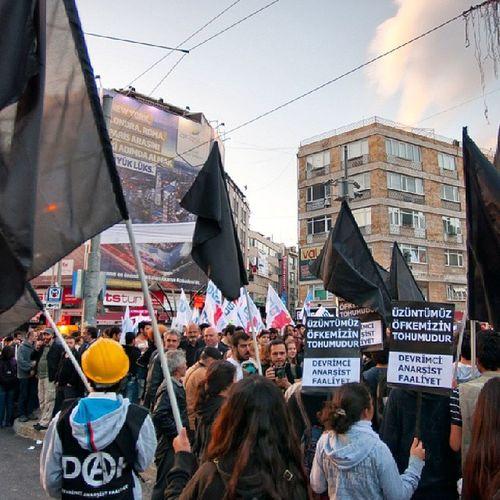 Soma Kadıköy Maden Işçi eylem daf 16.05.04 Kadıköy