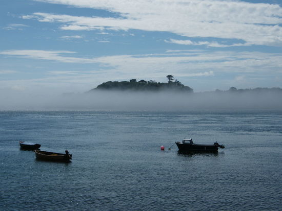 Ards Peninsula Beauty In Nature Day Nature Nautical Vessel No People Outdoors Portaferry Sea And Sky Sea Mist Sky Strangford Lough Water