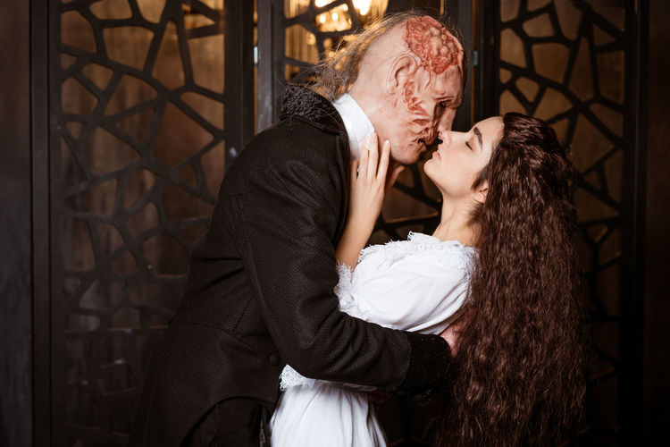 Photo cosplay based on the musical the phantom of the opera