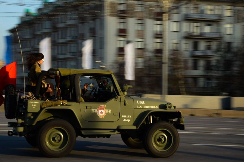 Day No People Car Jeep Jeep Life Wrangler Army Russia People Outdoors