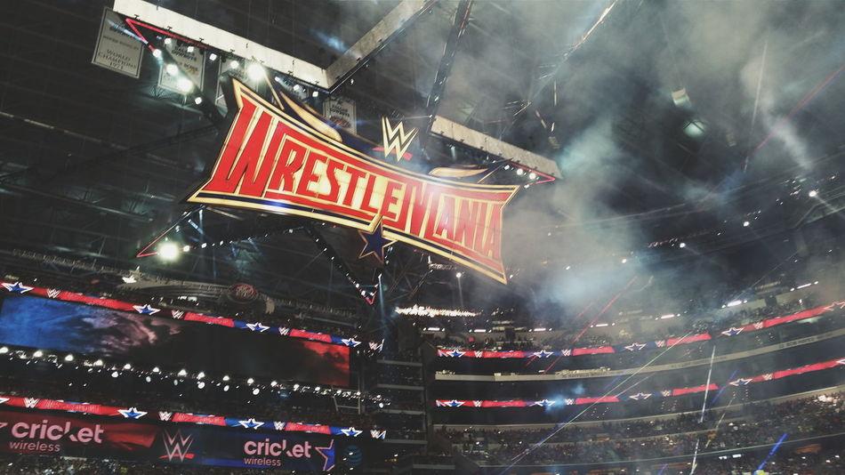 Wrestlemania Wrestling Dallas Dallas Tx Texas Wwe Wrestlemania32 2016 👏🏼💪🏼