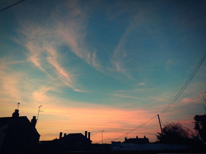 Sunset Sky Cloud - Sky Silhouette No People Sony Z5 Sony Z5 Compact Industrial Blue Check This Out Cityscape City Chimney Chimney Tops Chimneys &beautiful Skys  RedSky Red Sky At Sunset Red Sky At Night... Industrial Photography Cheltenham Leckhampton Crooks Industrial Estate