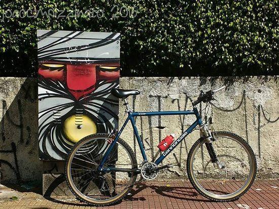 Bike & Graffiti. Bike Bicycle Streetphoto_brasil Colors City Zonasul Saopaulo Brasil Photograph Photography Graffiti Graffitiart Art Streetart UrbanART Mundoruasp Olhonaruasp Flaming_abstracts