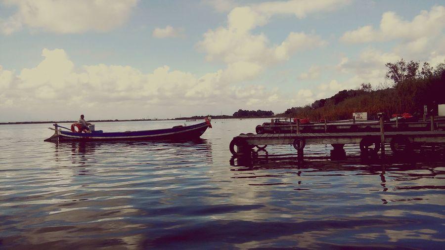 Sea SPAIN La Albufera L'albufera Valencia, Spain Barcos Muelle Boats