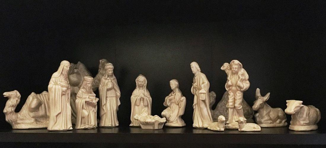 Nativity NativityScene Beautifully Organized