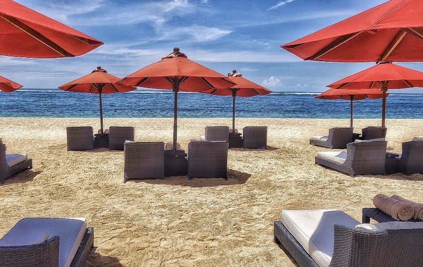 Beach Beachphotography St Regis Bali Nusa Dua  Bali INDONESIA Tourism Tourism Indonesia Editorial  Beachfront Vacation Beach Vacation Sandy Beach Sun Beach Umbrella