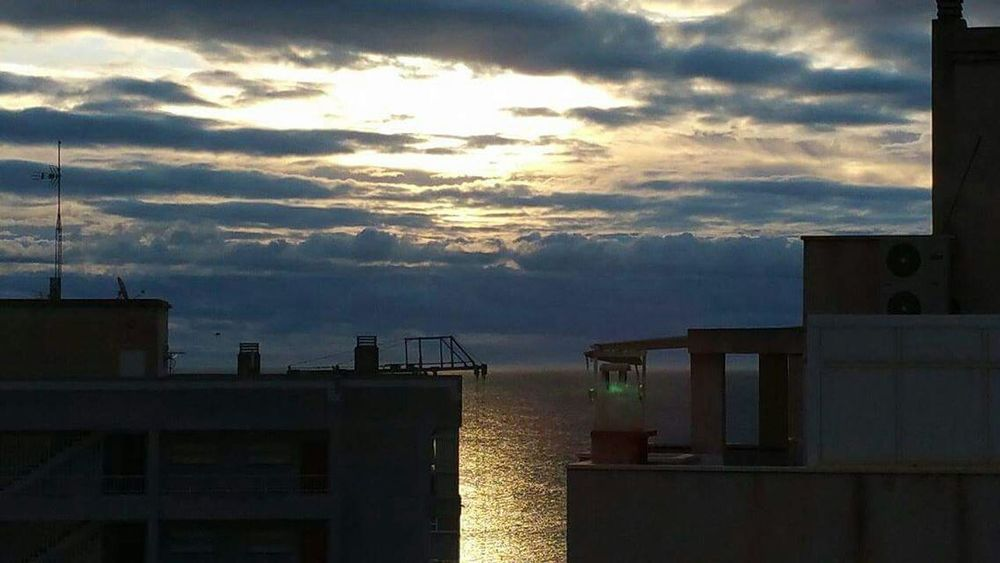 SeaSea Sunshine Hello World Hi! Nice Reflection From The Sun On The Wa Water From My Terrace Un Los Arenales I'll be back soon eyEmers..PEACE LOVE RESPECT ABOVE ALL !!