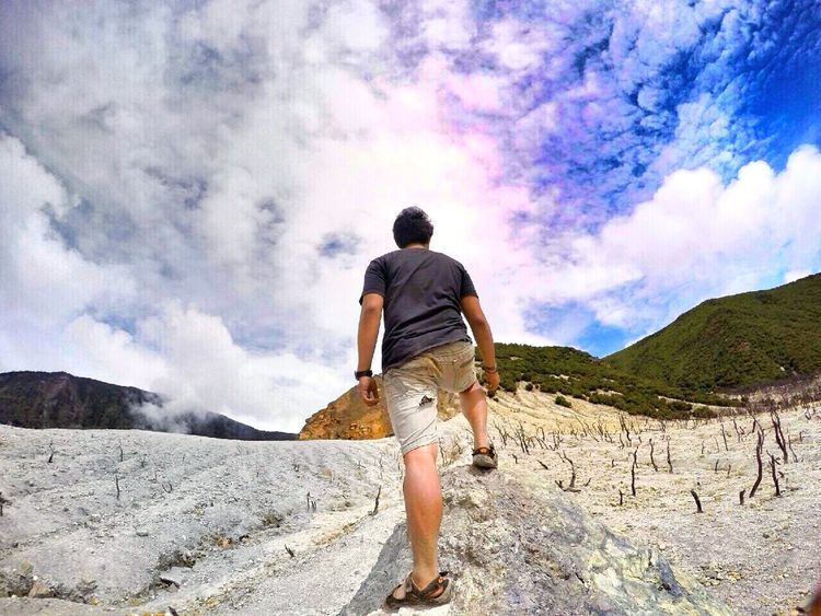 What will you choose? Travel Traveling EyeEm Nature Lover Eyemphotos Eyem Vision Rear View Travel Destinations Outdoors Journey Adventure Cloud - Sky Travel Lifestyles People Vacations Day Nature Only Men One Man Only