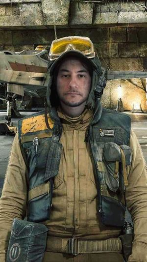 One Man Only Portrait Looking At Camera In Uniform May 4th May The 4th Be With You Star Wars Having Fun Messing Around X-wing Pilot