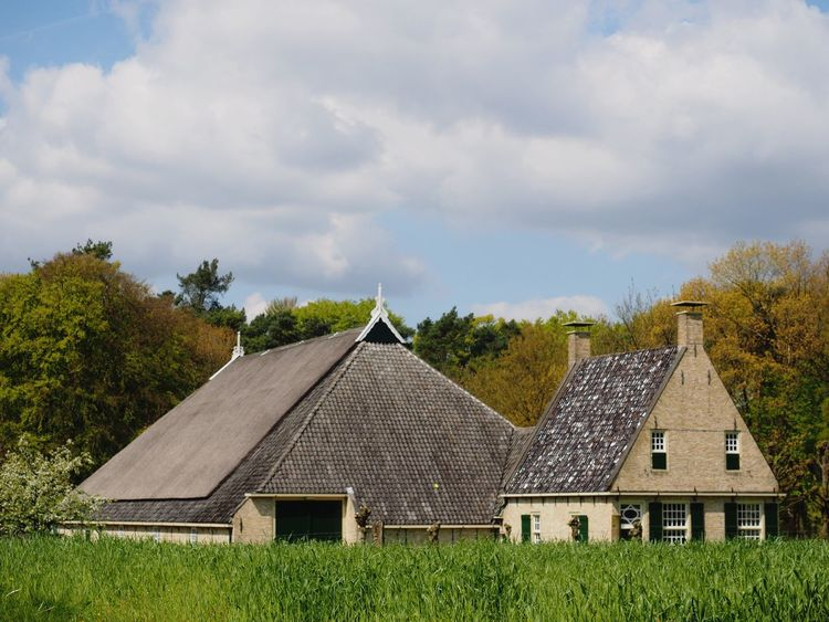 Openluchtmuseum Dutch Countyside Springtime Historical Building Architecture_collection Composition Architecture Tranquility Tranquil Scene Farmer's House Silent Moment M.zuiko 12-40mm F2.8 Pro Olympus OM-D EM-1