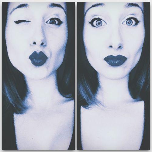 Face Girl Selfportrait Autoretrato