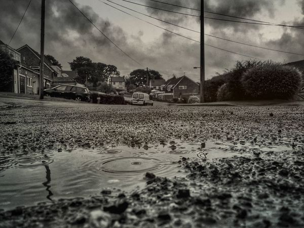 Summer Rain... Rowley Regis Sandwell Summer Summertime British Summer British Summertime Summer Rain Black And White Black And White Photography