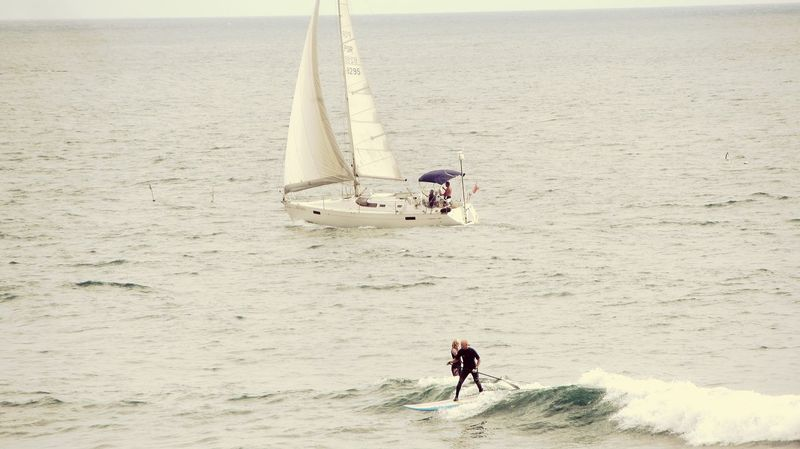 Surf's Up The boat and the paddle.. Paddle Surf Taking Photos Boat EyeEm Gallery Waves, Ocean, Nature Day Outdoors Taking Photos Pastel Power Sea_collection EyeEm X WhiteWall: Landscap Eyeem X Whitewall: Nature EyeEm Nature Lover EyeEm Best Shots - Landscape Daytime Sea View
