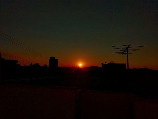 'Por do sol, natureza linda!!' #instanature #igersbrasil Silhouette