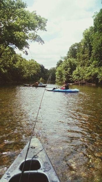 Relaxing Taking Photos Fishing (: Kayak Fishing