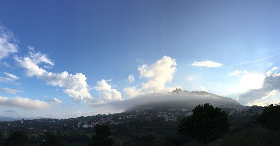 I Love My City Sanmarino Republicofsanmarino Italy Italia Emiliaromagna Nuvole Clouds Paese Panoramic View