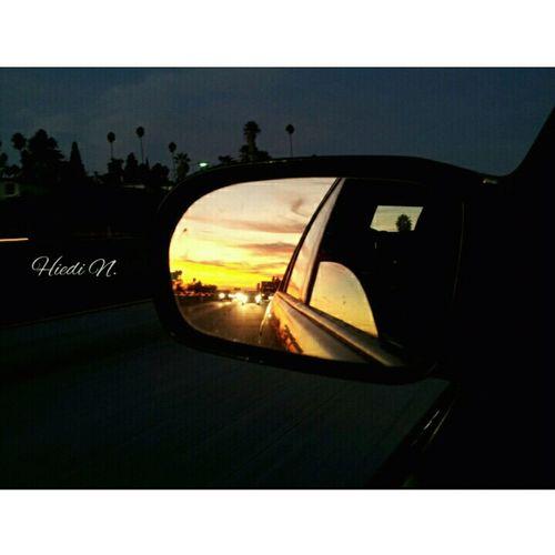 Sunset Sunrise Driving Enjoying The View No Filter Sunset And Sunrise