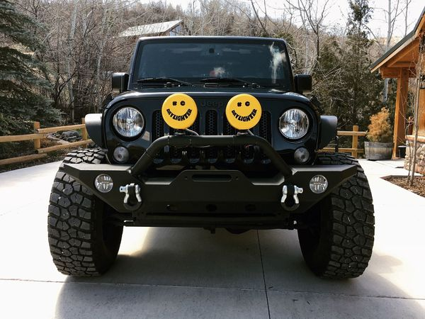 cashed in some of my EyeEm loot for some new fog lights. thanks to those who have bought my images. :D Wasatch County Utah Jeep Transportation Mode Of Transportation Land Vehicle Motor Vehicle Day Car Tree