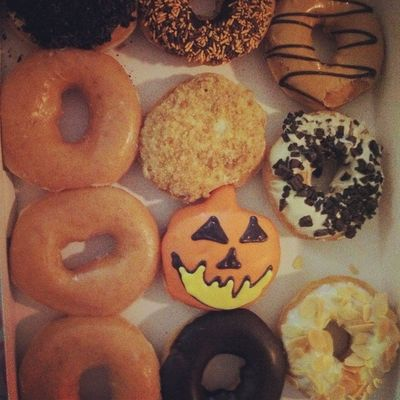 Boo! I miss the Halloween Spooky Donuts from Krispy creme food